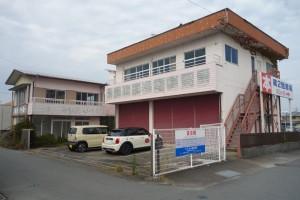 美容室Jill janneへと改装前の三重県松阪市大黒田町の建物。