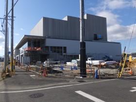 新築工事 進捗状況 津市久居アルスプラザ 2020年6月6日完成 三重県津市