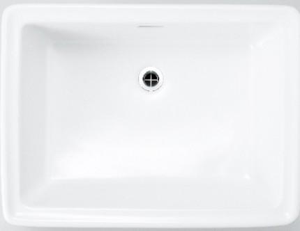 洗面器レクタングルLブランカ