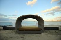 ラタン ガーデンファニチャー APOA HALLO 海の家