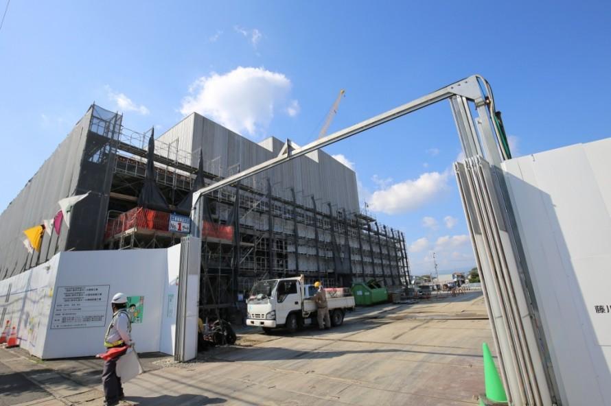工事進捗状況 久居ホール アルスプラザ 三重県津市