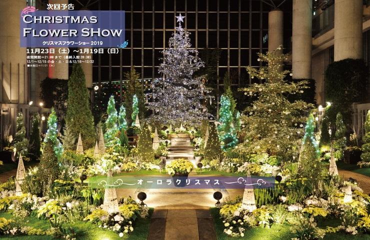 淡路夢舞台クリスマスフラワーショー