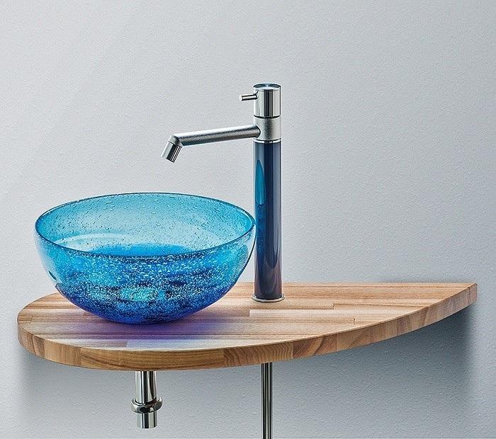 琉球ガラス 手洗いボウル