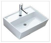 ベッセル型 手洗キャビネット キャパシア LIXIL