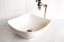 洗面ボウル シンプル 丸みを帯びたスクエア bj019 APOAショップ