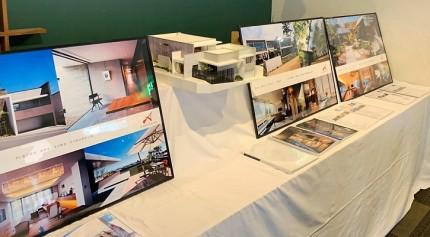 建築家写真展、アポアホテル四日市1