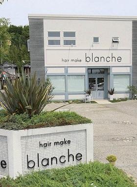 blanche 美容室 店舗改装 リニューアル APOA