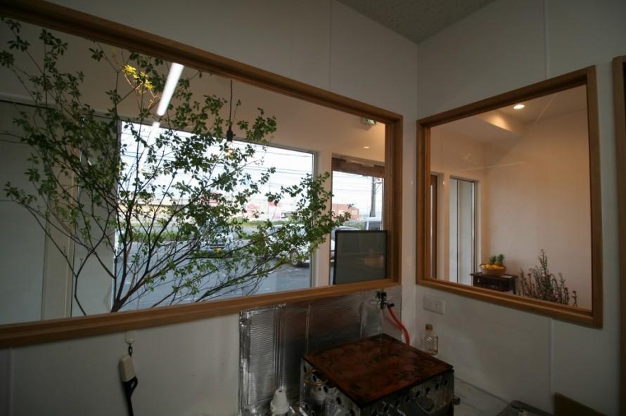 店舗改装 内装 グリーン ナカムラ屋 三重県松阪市 APOA