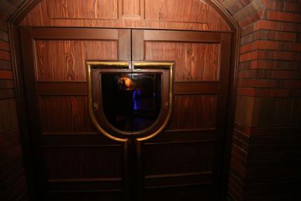 Darts&Dinning Bar Fixのエントランスのドア