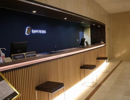 伊勢志摩ホテル フロントカウンター