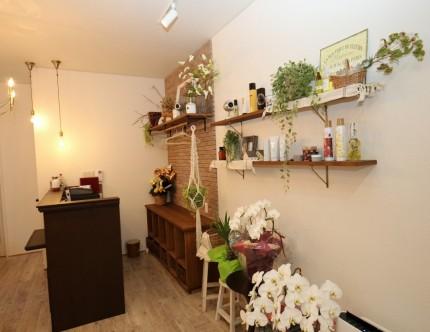 カウンター デザイン 美容室