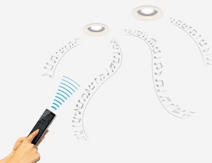 簡単接続 スピーカー付きダウンライト LED照明 音楽 Panasonic