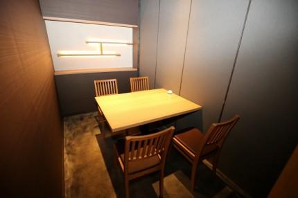 個室 店舗改装 鮨山 ナチュラル APOA