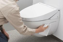 お手入れ楽 パブリック向けクイックタンク式壁掛便器 トイレ LIXIL