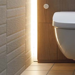 LED照明 フロートトイレ 壁掛式便器 LIXIL