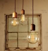 ペンダントライト 照明 インテリアル interial 天然木 多灯付け