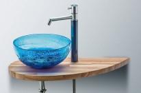 洗面ボウル 琉球ガラス bj020 APOAショップ