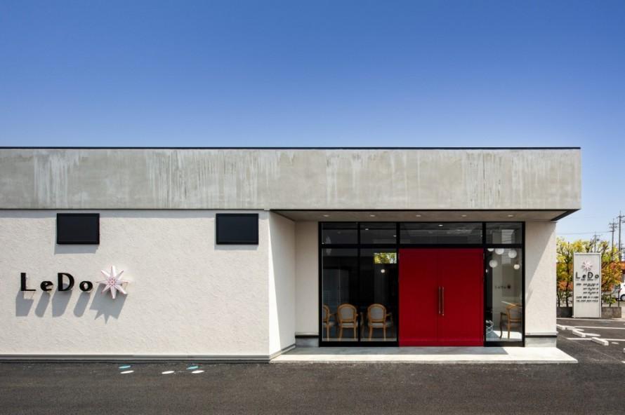 LeDo,美容室,名古屋モザイク,サンゲツ,APOA,アポア,店舗デザイン,設計施工,店舗デザイン設計