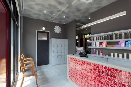 LeDo,美容室,名古屋モザイク,APOA,アポア,店舗デザイン,設計施工,店舗デザイン設計