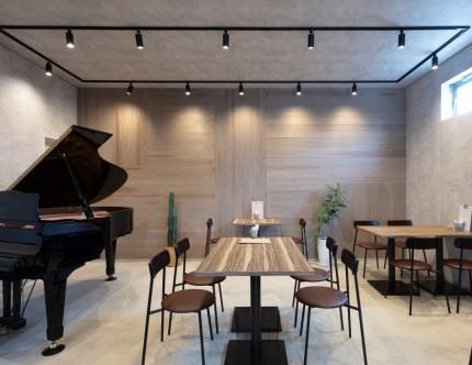 msc&cafe sepiace, カフェ 新築 三重県鈴鹿市