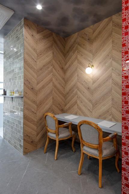 LeDo,レド,美容室,サンゲツ,名古屋モザイク,APOA,アポア,店舗デザイン,設計施工,店舗デザイン設計