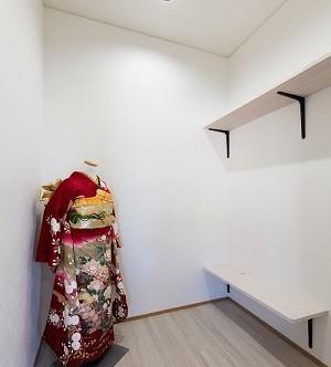 着付けスペース hair&healing en 美容院 三重県鈴鹿市