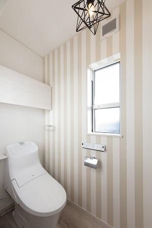 トイレ 新築注文住宅 店舗併用住宅 三重県鈴鹿市
