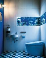 トイレデザイン satis blueblue LIXIL 店舗設計 APOA(アポア)