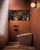 トイレデザイン satis brown LIXIL APOA(アポア)名古屋