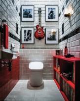 トイレデザイン satis red LIXIL 店舗設計 APOA(アポア) 名古屋